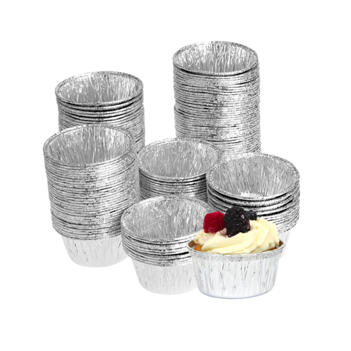 Picture of Aluminum round cup cake 100 pieces