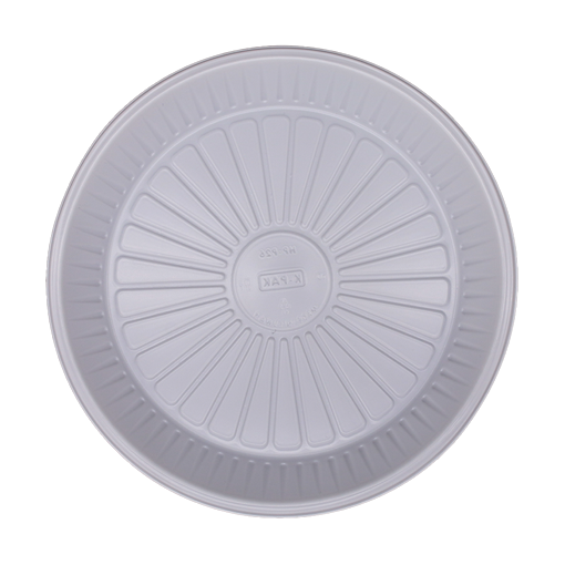 Picture of Plastic Plate Round Plain 26