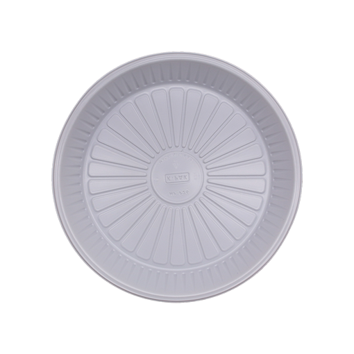 Picture of Plastic Plate Round Plain 22