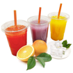 Picture of 50PCs Juice extract 12 ounce transparent cover