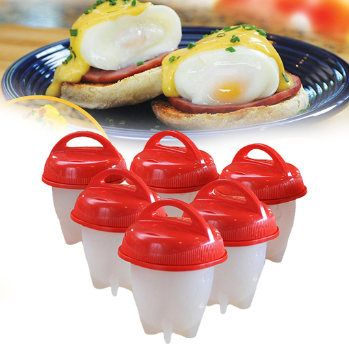 Picture of  Silicone Egg Boiler 6 Pcs
