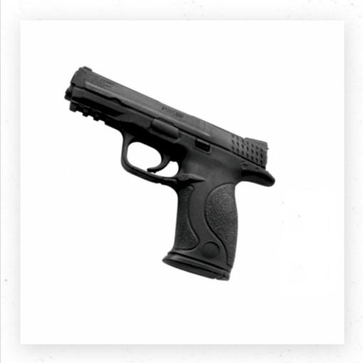 صورة رقم 243 - مسدس بلاستيك أسود