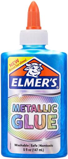 Picture of ELM METALLIC GLUE BLUE 5OZ