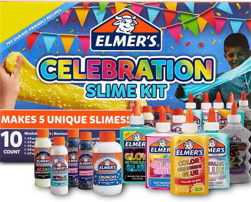Picture of ELM 10CT SLIME CELEBRATION