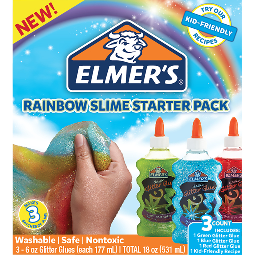Picture of ELM 3 PACK RAINBOW GLIT