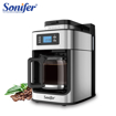 Picture of 2 In1 Drip Coffee Maker Compatible Ground Coffee And Coffee Beans Coffee Maker Machine With Digital Display Keep Warm Sonifer