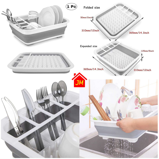 Picture of FOLDABLE DISH RACK SLICON