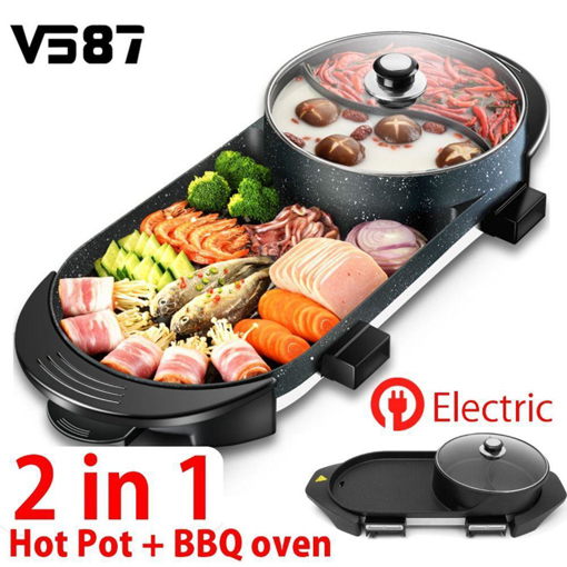 Picture of 2 IN 1 HOTPOT = BBQ OVEN  ELECTRONICS