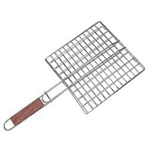Picture of Portable Barbecue BBQ Grill Net Basket Roast Grilling Tray