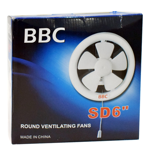 Picture of BBC Round Ventikating Fan 6 inch