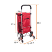 Picture of WAYTRIM Outdoor Aluminum Folding Shopping Trolley