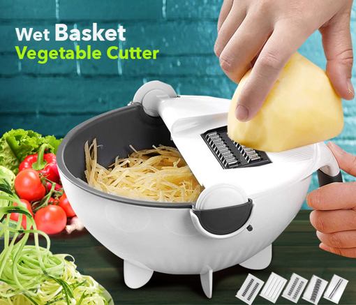 Picture of wet basket vegetable cutter