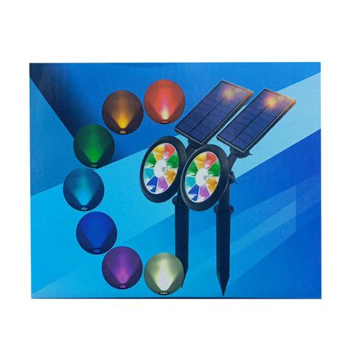 Picture of outdoor solar magic light
