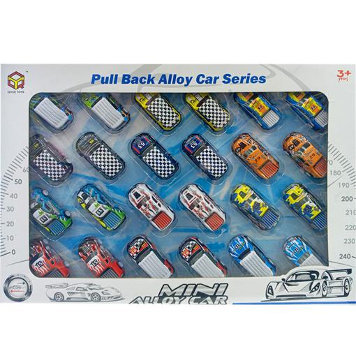صورة سلسلة سيارة سبيكة لعبة 24 قطعة