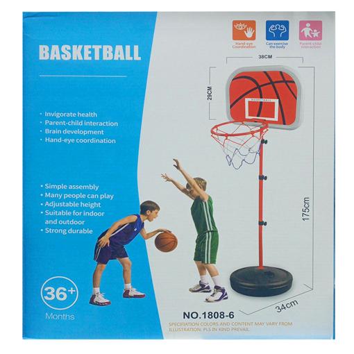 صورة  كرة السلة مناسبه لعمر وفوق 3+ سنوات 175 سم × 29 سم × 38 سم