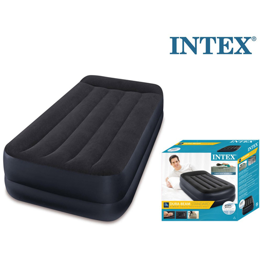 Picture of Single Twin Size Raised Inflatable Guest Air Bed Mattress