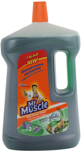 Picture of mr muscle multi purpose cleaner pine