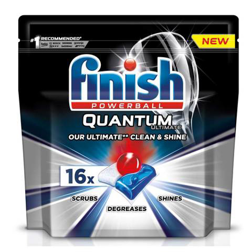 Picture of Finish Powerball Quantum Ultimate 16 Tabs