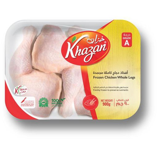 Picture of Frozen whole chicken thighs 900 grams tank