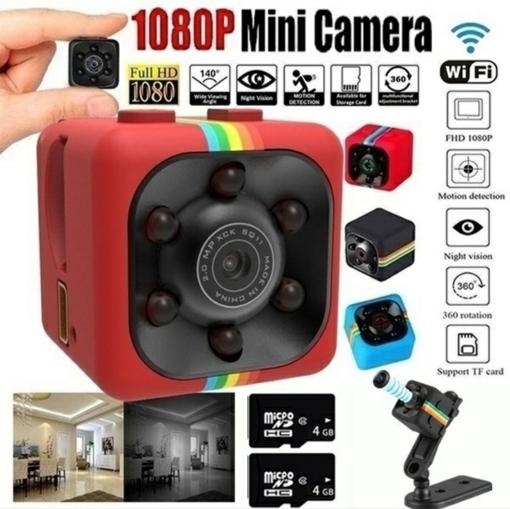 صورة كاميرا صغيرة 480P مسجل فيديو كاميرا رقمية مايكرو Full HD IR للرؤية الليلية أصغر كاميرا فيديو DV DVR PK SQ11 SQ8
