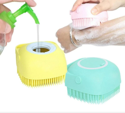 Picture of SILICONE MASSAGE BATH BRUSH