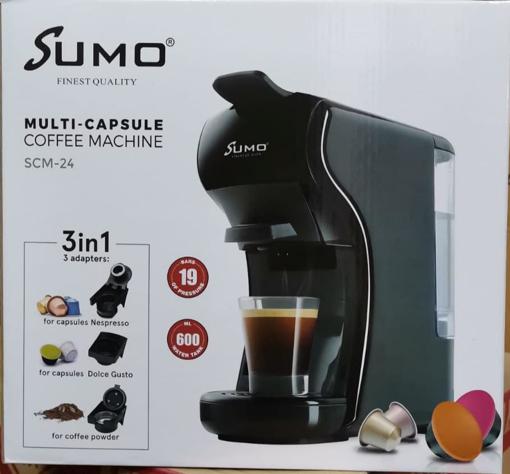 Picture of Italian Espresso Electric Coffee Capsule Machine 3 in 1