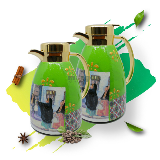 Picture of tea & coffe thermos ( Ramadan dress )
