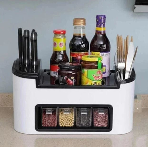 Picture of Spice organizer and cooking tools