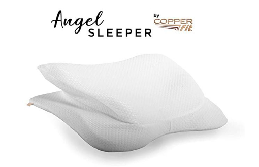 Picture of copper fit angel sleeper pillow