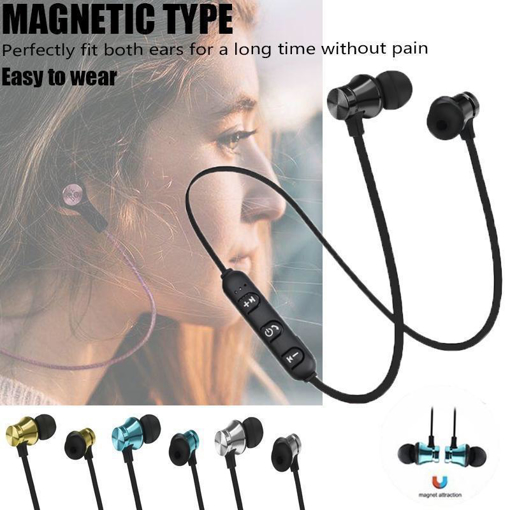 Picture of headphone magnetic type