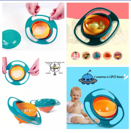 Picture of kids UFO bowl for food