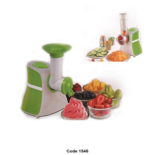 Picture of Ice cream maker and vegetable slicer