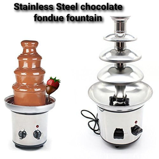 Picture of stainless Steel chocolate foundue fountain