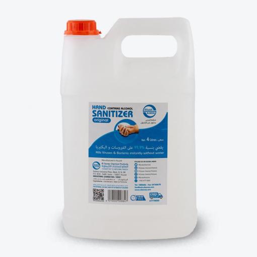 صورة Sana hand Sanitizer Gel 4 litre