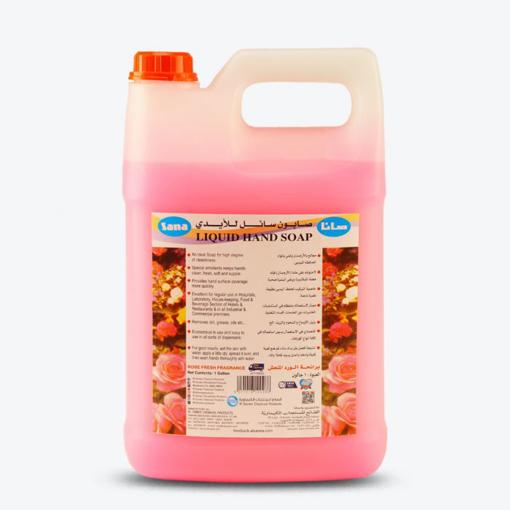 صورة Liquid Hand Soap Rose 4 litre