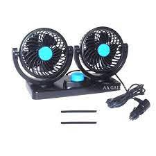 Picture of black double fan