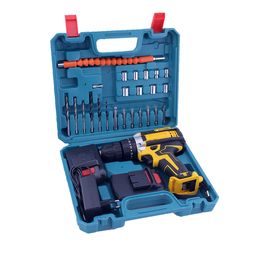 Picture of Drill with box and complete tools