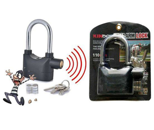 Picture of Lock with alarm sound