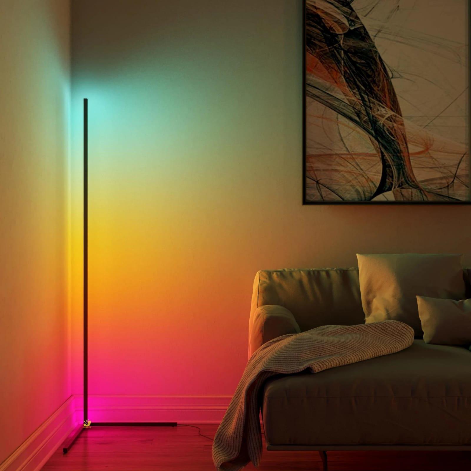 صورة إضاءة LED جميلة للزوايا