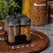 Picture of Regular - Spices jars holder, 4 jars