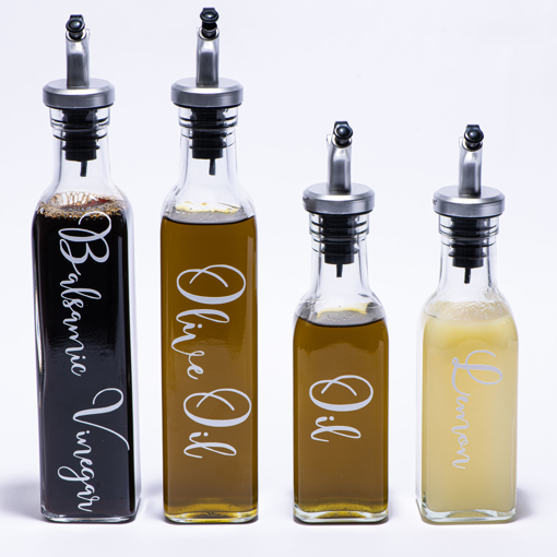 Picture of 250 ml with stand - liquid dispenser set (2 pieces)