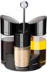 صورة طقم موزع الزيت والخل والملح والفلفل ، أسود