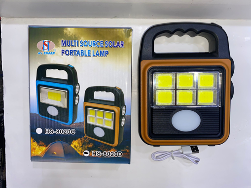 Picture of portable solar lamp