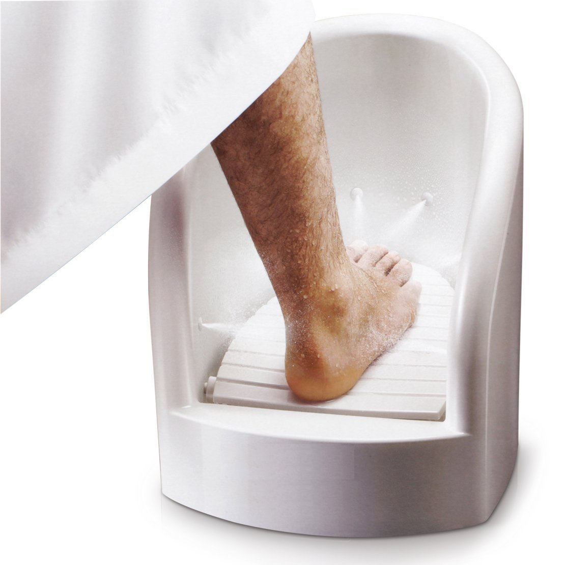 Picture of Innov Foot Washer With 360° Sprayer - White